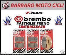 KIT PASTIGLIE FRENO ANT+ POST. SINTERIZ. BREMBO TMAX 2011 T-MAX PASTICCHE T MAX