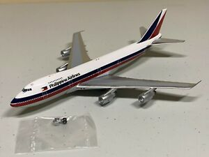VERY Rare Big Bird 1/400 Philippine Airlines B747-200 Vintage Color