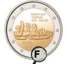 """2 euro commemorativa BU Malta 2017 """"Hagar Qim"""" - 30 000 copie - punzone"""