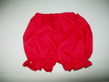 """15-18"""" CPK CABBAGE PATCH KIDS RED RUFFLED PANTY PANTIES BLOOMERS"""