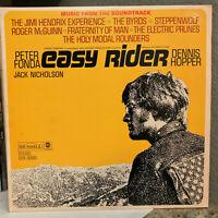 "EASY RIDER Movie Soundtrack (Dunhill DSX 50063) -12"" Vinyl Record LP- EX"