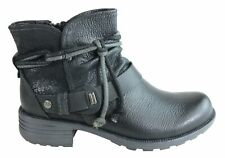 Brand New Planet Shoes Phip Womens Comfort Leather Ankle Boots With Arch Support