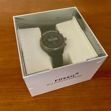 NEW Fossil Sport Smartwatch 41MM Black Silicone FTW6024