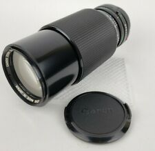Vintage Canon FD 70-210 mm f4 Macro Zoom Lens with case