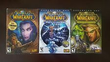 World of Warcraft WoW 3 games bundle PC