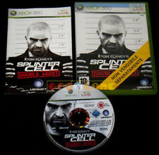 TOM CLANCY'S SPLINTER CELL DOUBLE AGENT XBOX 360 Vers Italiana Bundle • COMPLETO