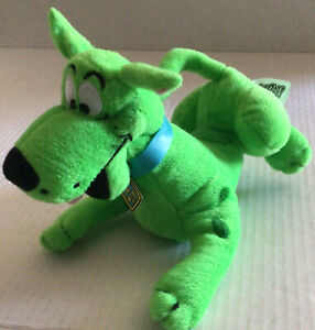 Toy Factory Scooby Doo Plush, 8 Inches Long Green