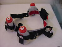 FUEL BELT with 3 WATER BOTTLE - RUNNING TRIATHETE WALKING SIZE LARGE