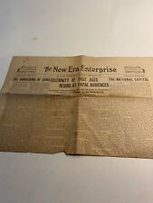 Watchtower Related The New Era Enterprise March 3 1925 St Paul Minnesota