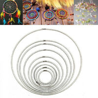 Strong Craft Metal Dreamcatcher/Macrame Hoops/Ring Feather Pentacle 35mm~160mm