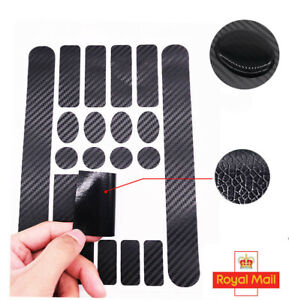 MTB Bike Frame Stickers Set Road Bicycle Cycle Protection Decal Carbon Effect UK
