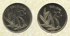 20 frank 1990 fr+vl * uit muntenset * FDC / UNC *
