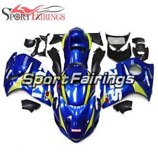 Full Fairings For 2008 - 2016 Suzuki GSXR1300 Hayabusa Bodywork ABS Blue Yellow