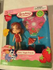 Bandai Strawberry Shortcake Cheer Days Doll Talkin' Giggle Friends NIB 2004