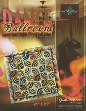 Ballroom Dance Foundation Paper Piecing Quilt Pattern