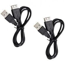 TWO 2 USB Cables for Sony MHSTS20K/B MHSTS20KB MHSTS20K/S