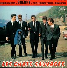 ★☆★ CD Single   Les CHATS SAUVAGESSherry - EP 4-track CARD SLEEVE  ★☆★