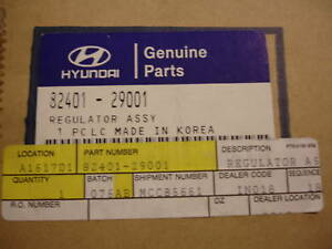 Genuine Hyundai Elantra Window Regulator 8240129001 NOS