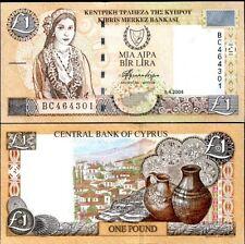 Chypre CYPRUS Billet 1 POUND 2004 P60d NEUF UNC