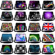 17 17.3 inch Laptop Sleeve Bag w Hidden Handle &Shoulder Strap Fit Toshiba Acer