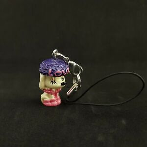 New Claire's Cell Phone Charm Cartoon Dog Love