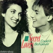 """7"""" SECRET LOVERS Could It Be Forever EDITH JEREMY (SUGAR & CANDY) METRONOME 1988"""