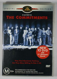 The Commitments DVD Special Edition TRACKED POST