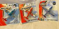lot of 3 - SEARCH PLANEs    2004 MATCHBOX SKY BUSTERS    DIE-CAST