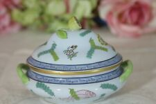 """Exquisite, Small Herend Tureen, with Lemon Finial, """"Poisson"""""""