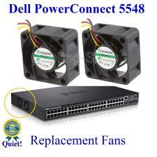 P//N J4899A Quiet HP ProCurve 2650 Replacement Fan Kit  2x new fans by Sunon