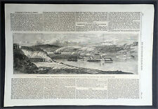 1862 May, Illustrated London News x 3 Pages, America Civil War - General Pope