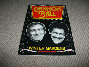 Cannon & Ball theatre programme (1981 Summer Season, Bobby Ball, Tommy Cannon)