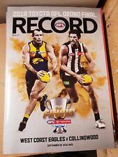 2018 AFL Grandfinal RECORD WEST COAST vs COLLINGWOOD