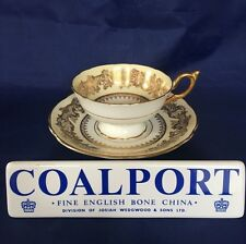 Coalport GOLDEN WEDDING CREAM Cup & Saucer
