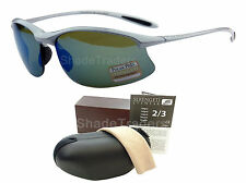 SERENGETI MAESTRALE SUNGLASSES POLARIZED PHOTOCHROMIC PhD 555NM BLUE MIRROR 8123