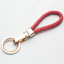 New Fashion Red Key Chain Ring Keychain Men Women Gift For All Vehicles