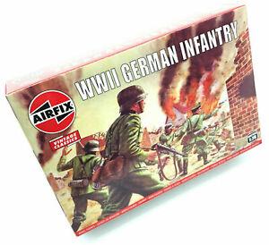 WWII GERMAN INFANTRY - AIRFIX - CLASSICS - 1:76 - WW2