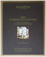 ART AFRIQUE OCEANIE - COLLECTION ANDRE BLANDIN - VENTE PICARD 14 FEVRIER 1994