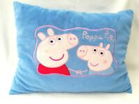 Peppa Pig Peppa Travel Pillow Reversible Soft Plush Stuffed Toy Comforter