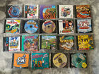 Assorted Computer Game Cd Lot Pc Mac Cd-rom Bundle Kids - Fast Shipping!