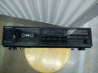 Sony TC-R303 Stereo Cassette Tape Deck w/ Dolby B/C.. LOCAL PICKUP ONLY..
