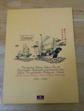 马中建交 2004 MALAYSIA CHINA 30th Diplomatic Relationship EMPTY Stamp FDC Folder