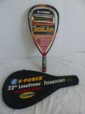 """E-Force Titanium Bedlam Lite 170 Racquetball Racquet 22"""" Longstring w/ Case New"""
