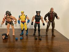 Marvel Legends Wolverine LOT - Weapon X, Old Man Logan, First Appearance, Retro