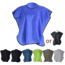Short Square Waterproof Hairdressing Hair Cut Salon Hairstylist Gown Cape Cloth