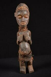 17847 Afrikanische Alte Yoruba Figur Nigeria Afrika