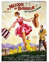 The Sound of Music (1965) FRENCH Poster 10x8 Photo