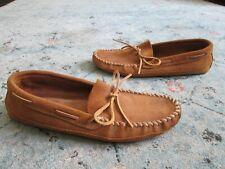 Minnetonka Men's 12 Double Bottom Softsole Slipper brown