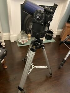 Meade ETX 90EC Telescope with Deluxe Tripod and various extras