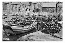 pt4019 - Fishing Boat at Staithes , Yorkshire - photo 6x4